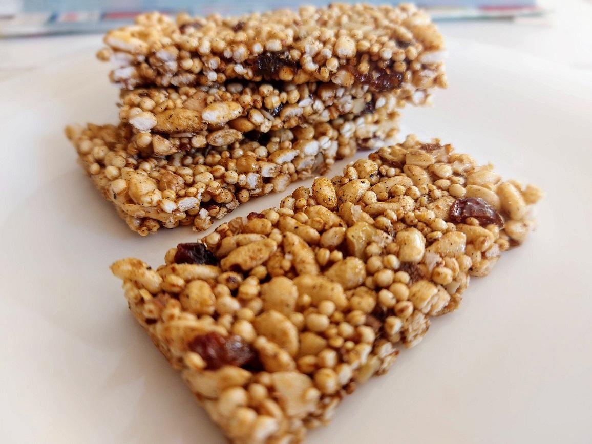 Batoane granola low FODMAP